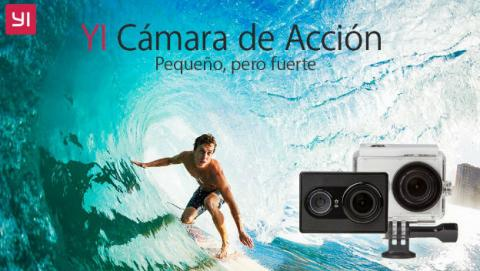 Yi Cam, la cámara de acción barata, en oferta en Amazon España.