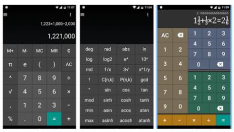 EzCalculator aplicación calculadora científica Android iOS