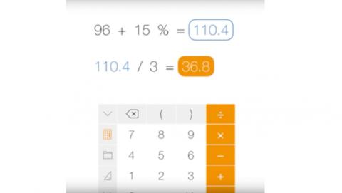 Calculadora científica iOS de pago Tydling