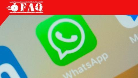 Ver archivos recibidos en una conversación de WhatsApp.