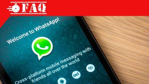 Cómo borrar una conversación de WhatsApp.