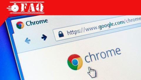 Añadir una web a favoritos en Chrome.