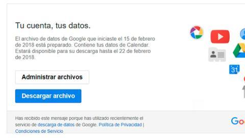 Descarga tus correos de Gmail gratis