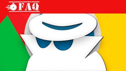 Cómo navegar de incógnito en Chrome.
