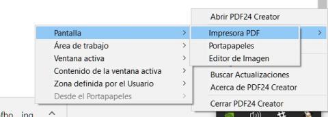 Cómo capturar pantallas y convertirlas a PDF rápidamente