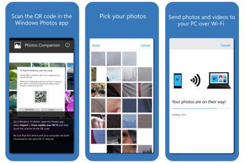 Mandar fotos móvil Microsoft