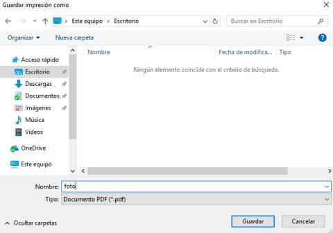 Caputra guardar PDF