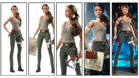 La Barbie de Lara Croft y Tomb Raider ya es oficial