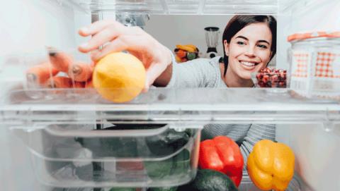 Guardar frutas y verduras frigorífico