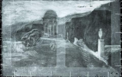 Paisaje hallado bajo un cuadro de Picasso