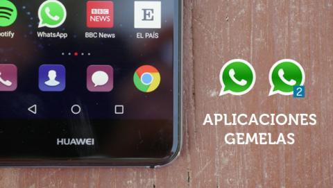 App gemela Huawei P10 Lite