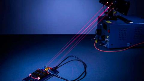 cargador inalambrico laser