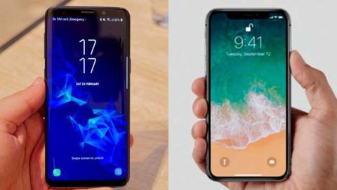 iphone x samsung galaxy s9