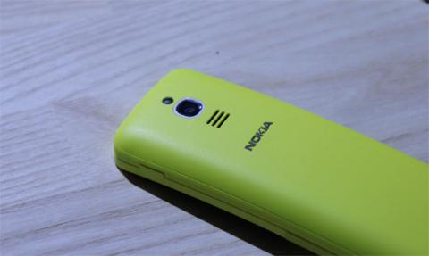 La trasera del Nokia 8110 4G