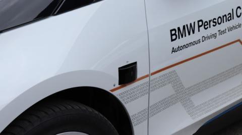Sensores del coche de BMW