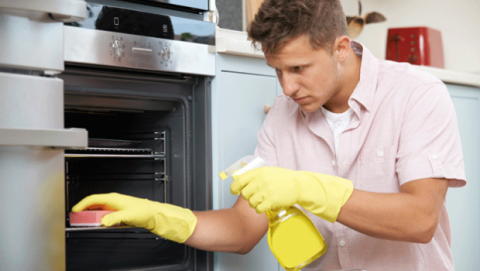 Consejos para limpiar el horno a fondo