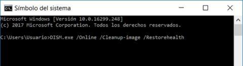 Cómo reparar archivos del sistema en Windows