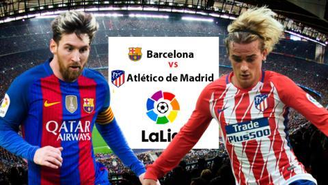 Barça vs Atlético de Madrid: enlaces para ver el partido por Internet.