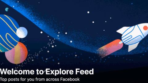 Eliminada la sección Explorar de Facebook