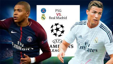 Cómo ver en directo gratis el PSG vs Real Madrid.