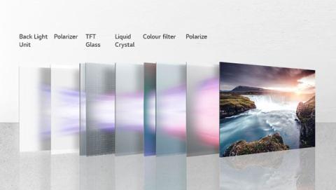 Partes de LCD LED de LG
