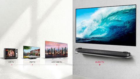 Evolución del LCD LED al OLED de LG