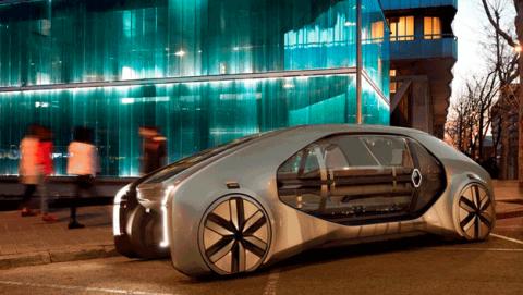 Coche autónomo, compartido y eléctrico Renault EZ-GO