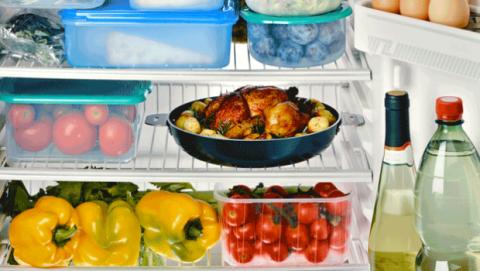 De qué manera colocar los alimentos en la nevera
