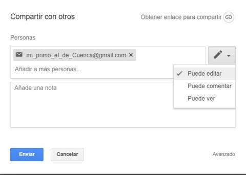 Cómo conceder permisos de edición en Google Drive