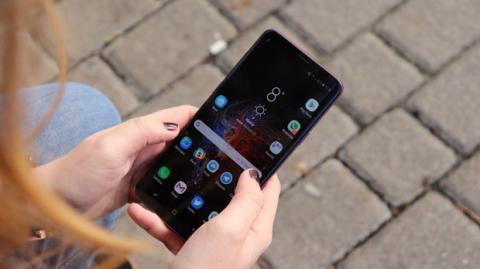 La pantalla del Galaxy S9 Plus es de 6,2 pulgadas