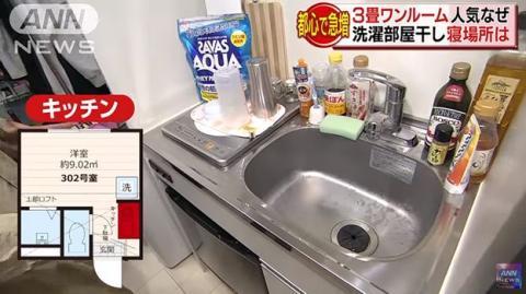 Así se vive en un apartamento de 16 metros cuadrados en Japón