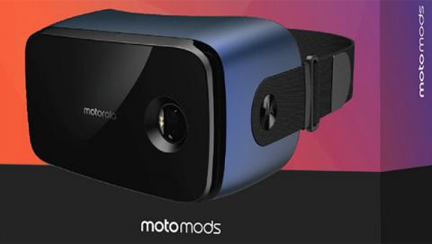 Estas gafas de realidad virtual son unos motomods