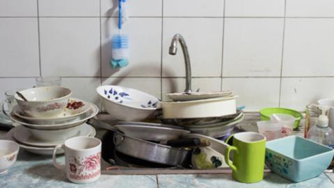 por qué es importante limpiar el fregadero