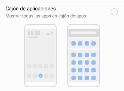 P8 Lite 2017 - Cajon de aplicaciones