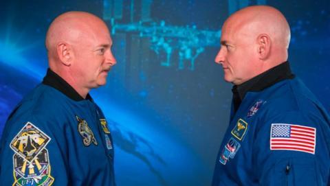 Cambios en el ADN por estar un año en el espacio.