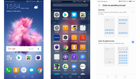 Huawei P Smart - software