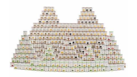 Este Kit del Apocalipsis te alimentará durante cuatro años a base de latas