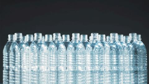 Cuántas partículas de plástico hay en las botellas de agua