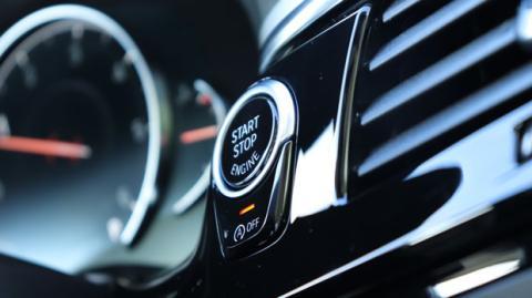 El interior del Serie 5 de BMW