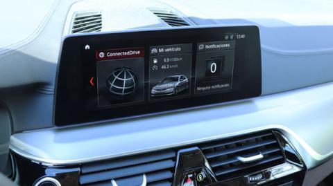 El navegador del Serie 5 de BMW