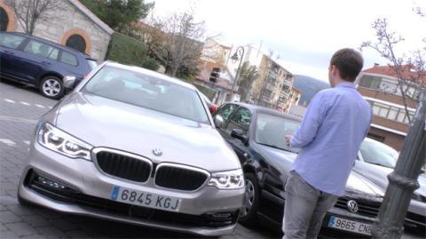 Control remoto del Serie 5 desde el mando de BMW