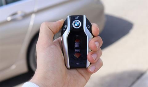 Control remoto del coche desde la llave