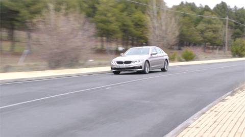Hablemos ahora de los asistentes a la conducción del BMW Serie 5