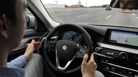 Los asistentes a la conducción del Serie 5 de BMW
