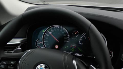 Cuadro de instrumentos del BMW Serie 5