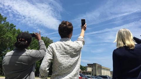Ahora puedes trabajar para la NASA, tomando fotos del cielo