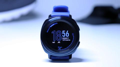 Así es el diseño del Samsung Gear Sport