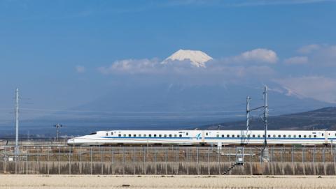 Nuevo tren bala japonés para los Juegos Olímpicos.