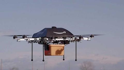 Amazon piensa en llevarte los pedidos a tu casa con un dron