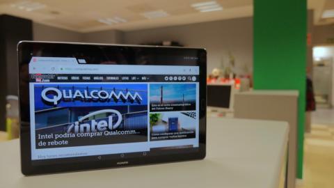 Huawei MediaPad M5 10 - frontal